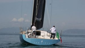 TheFifty sailing yacht